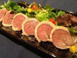 合鴨のスモーク サラダ仕立て
